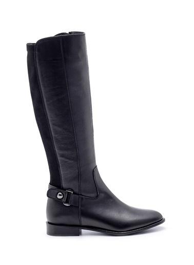 Derimod Kadın Çizme (D18-23) Casual Siyah